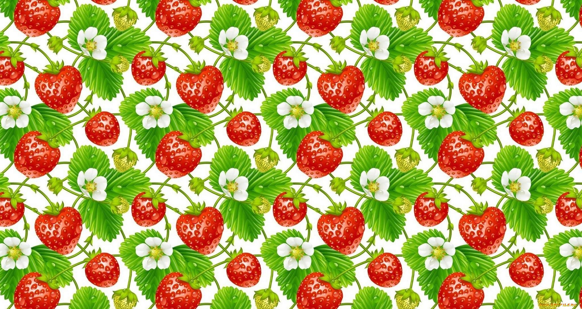 Картинки природа клубника